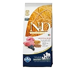Farmina N&D Dry Dog Food Lamb & Blueberry Adult - 12 Kg
