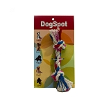 DogSpot Cotton Bone Rope Toy - Small