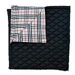 Mutt Of Course Pupberry Blanket Black  - Medium