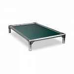 Kuranda All Aluminium Dog Bed Forest Green - Medium