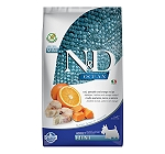 Natural & Delicious Grain Free Ocean Pumpkin COD Fish & Orange Adult Mini - 2.5 Kg