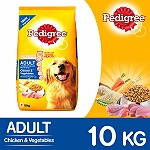 Pedigree Adult Dog Food Chicken & Vegetables -  10 Kg