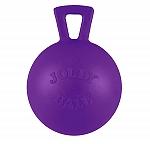 Jolly Pets Tug-n-Toss Ball Dog Toy Purple - 20.3 cm