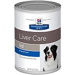 Hill's Prescription Diet L/D Liver Care Wet Food for Dog - 370 gm (Pack of 12)