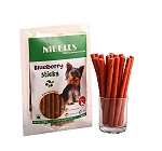 Nibbles Blueberry Sticks - 100 gm (Pack Of 5)