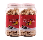 Nibbles Puppy Milk Biscuit - 500 gm(Pack Of 2)