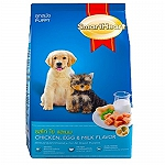 Smart Heart Dry Dog Food Chicken Egg and Milk Puppy - 8 kg