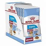 Royal Canin Medium Puppy - 1.40 Kg (140 gm x 10 Pouches)