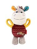GiGwi Donkey Plush Friends With Squeaker Dog Toy