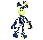 Petsport Braided Rope Rasta Man with Tennis Ball - Medium