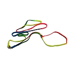 DogSpot Multicolor Tape Show leash