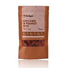 PetSpot Chicken & Peanut Bits - 50 gm