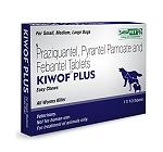 Savavet Kiwof Dewormer  For Dog - 10 Tablets