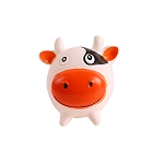 DogSpot Squeaky Vinyl Cow Toy