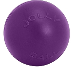 Jolly Pets Push-n-Play Ball Dog Toy Purple - 35.5 cm