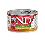 Farmina N&D Wet Dog Food Grain Free Quinoa Skin & Coat Quail & Coconut Mini Adult - 140 gm (6 Cans)