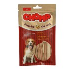 Dry Chicken Jerky Sandwich Dog Treat Chomp