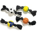 Dog Toy Ball With Terry Cloth Assorted Karlie