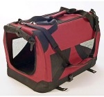 Petzden Canvas Fold Flat Carrier Crate For Dogs XL