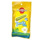 Pedigree Dog Treat Denta Stix Green Tea Flavour Toy & Small Dogs  - 75 Gm
