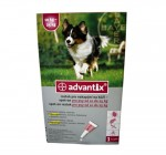 Bayer Advantix Ticks And Flea Remover For 10 Kg - 25 Kg Dogs