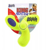 KONG Air Dog Squeaker Spinner Dog Toy - Medium