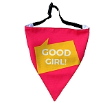 LANA Paws Good Girl Adjustable Bandana -Medium & Large