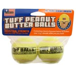 PETSPORT Tuff Peanut Butter Balls Dog Toy - 2 Pack