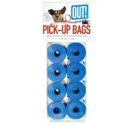 Out Waste Pick-Up Blue Bags - 120 bags