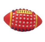Karlie Vinyl Rugby Ball Dog Toy 6.5 inch