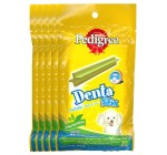Pedigree Dog Treat Denta Stix Green Tea Flavour Toy & Small Dogs  - 75 Gm Pack Of 5