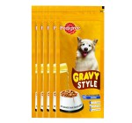 Pedigree Dog Treat Adult Gravy Style  - 100 gm Pack of 5