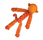 KONG Braidz Fuzz Monkey Dog Toy  Medium