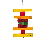 BirdSpot Coloured Stacker Hanging Bird Toy