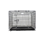 DogSpot Medium Size Cage For Dogs (LxBxH - 24x17.5x17.5 inch)