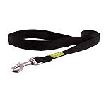 DogSpot Premium Leash With Soft Handle Black 20 Mm - Medium