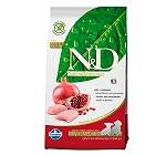 Natural & Delicious Grain Free Chicken & Pomegranate puppy Mini & Medium - 7 Kg