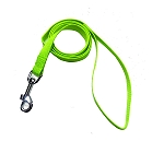 DogSpot Premium Nylon Leash Neon Green 15 mm - Small