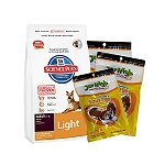 Hills Science Plan Adult Light Chicken - 3 Kg With Treats