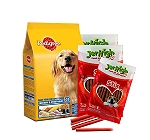 Pedigree Chicken & Vegetables Adult Dog Food - 10 Kg With Treats