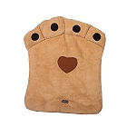 DogSpot Paw Shaped Dog Bed Large (LxBxH - 39x28x3 Inches)