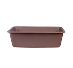 CatSpot Premium Cat Litter Tray - Brown - (LxBxH - 22x17x6.5 inches)