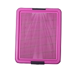 DogSpot Puppy Toilet Tray Pink - (LxW - 20x16 Inches)