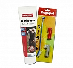 DogSpot Tooth Brush & Beaphar Tooth Paste -100 Gm Pack