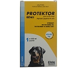 Cipla Protektor Anti Flea & Tick Solution For XLarge Dog - 40 to 60 kg