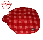DogSpot Classic Check Dog Coat Red - Size 24