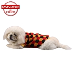 DogSpot Tricolor Hexagon Sweater size - 20