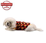 DogSpot Tricolor Hexagon Sweater size - 24