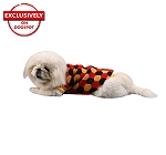 DogSpot Tricolor Hexagon Sweater size - 16