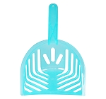 Fresh Kitty Translucent Litter Scoop - Sea Green